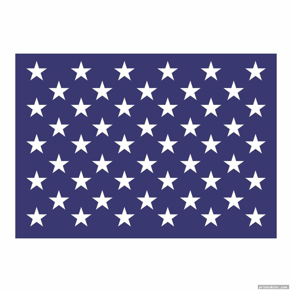 american flag stars stencil printable image free