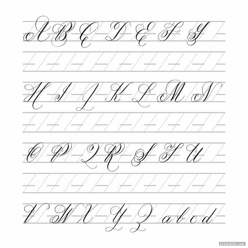 big bold modern calligraphy practice sheets printable