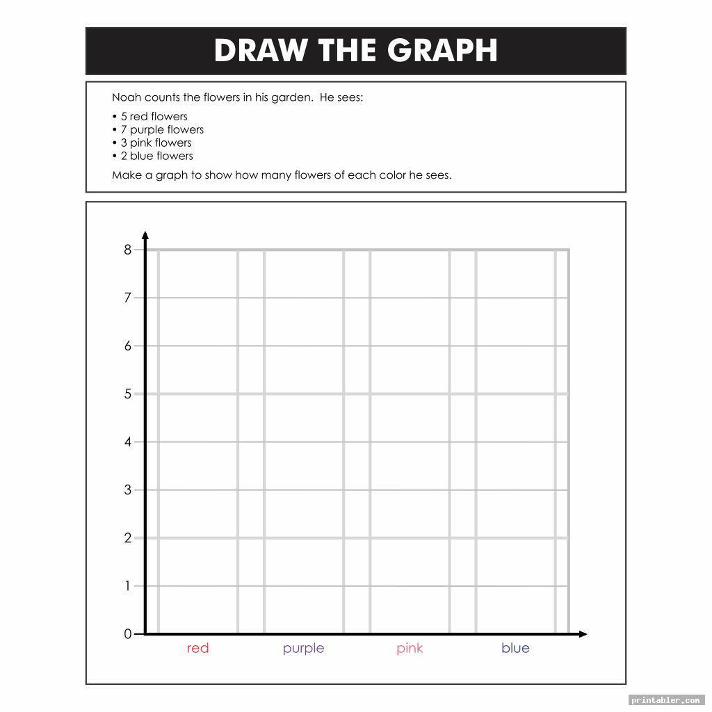 blank printable bar graph worksheets