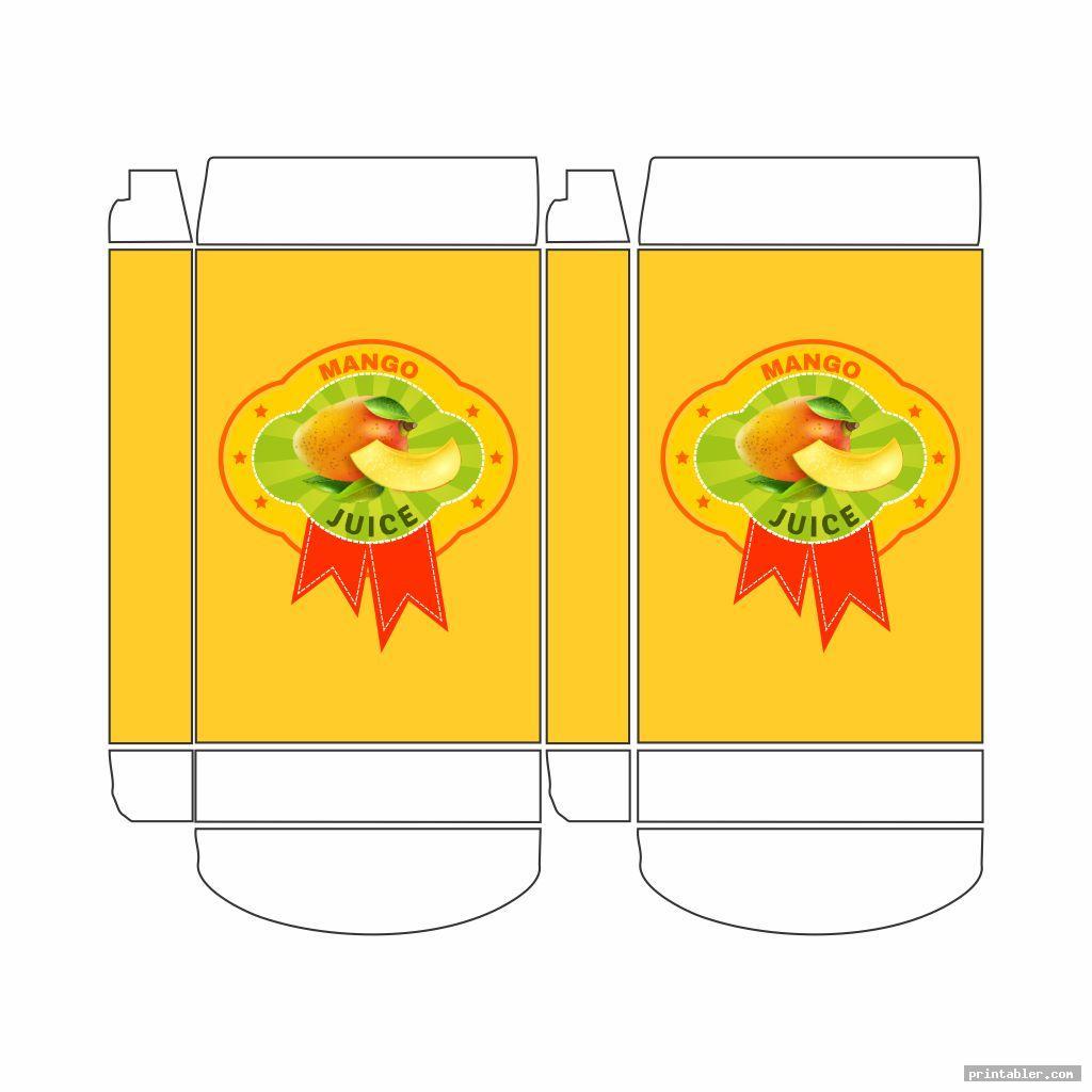 boxes of food mini printables image free