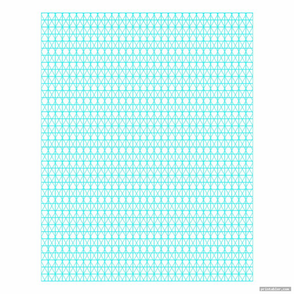 colorful printable isometric grid paper