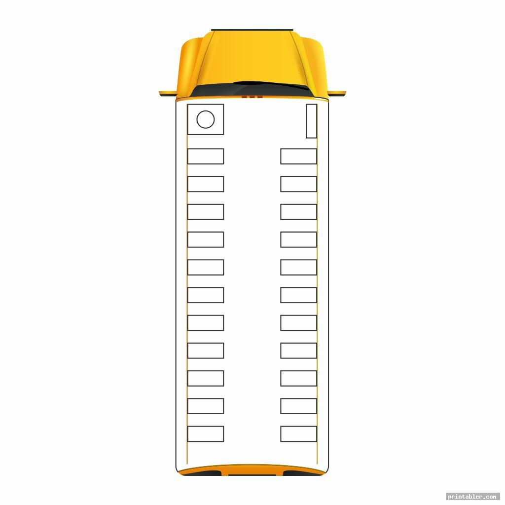 cool printable school bus diagram
