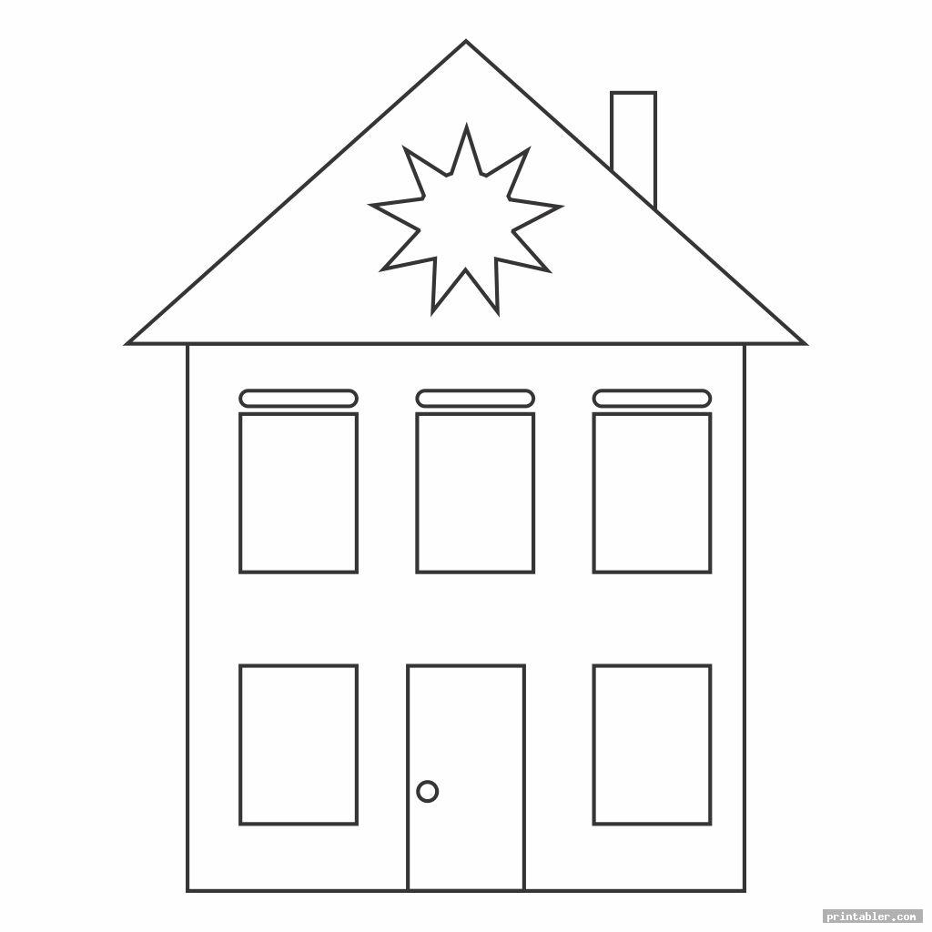 cool shape worksheets printable houses