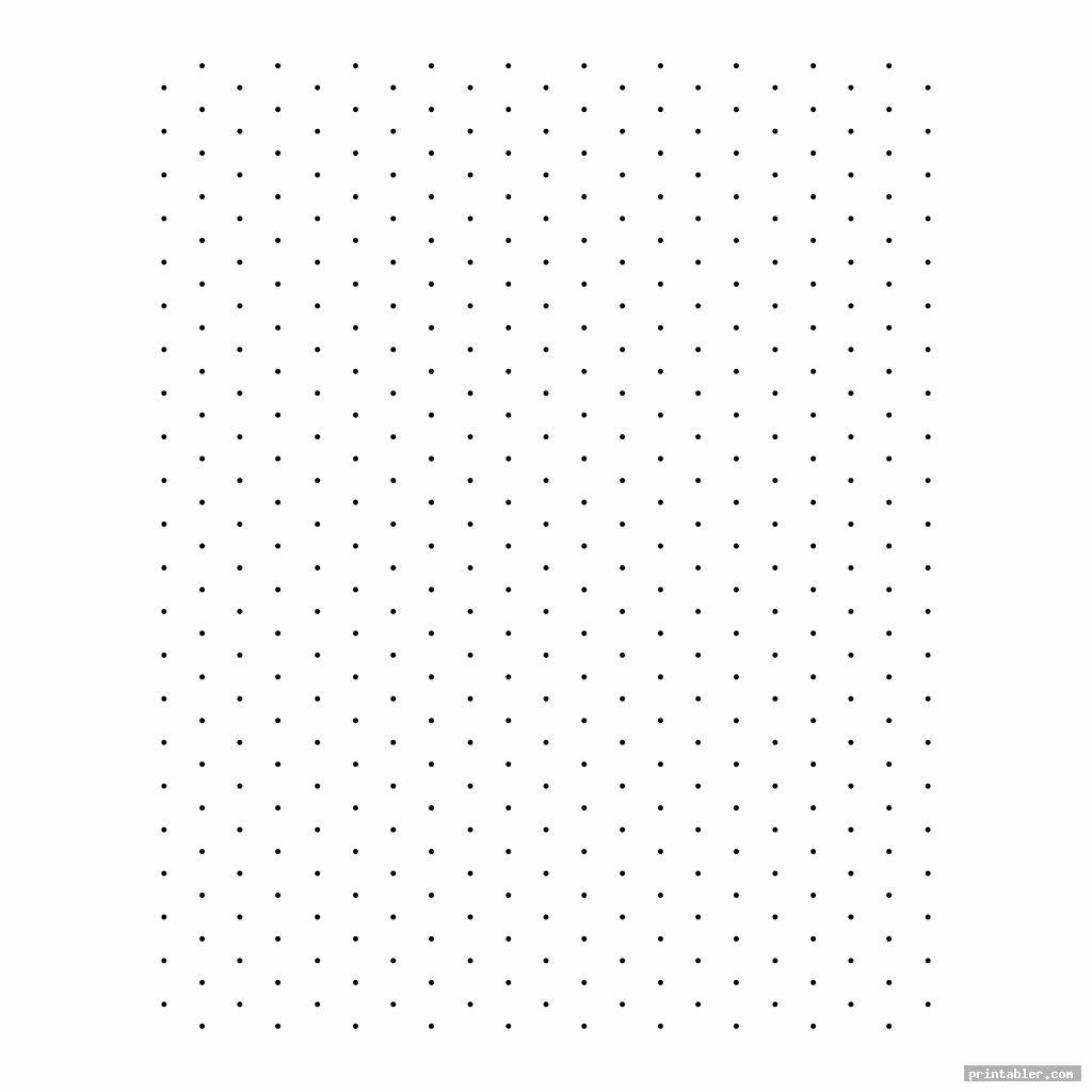 dot printable isometric grid paper