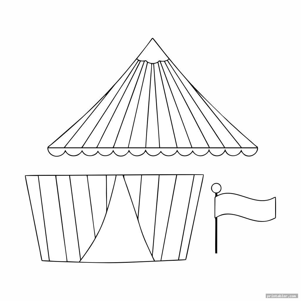 nice printable circus crafts image free