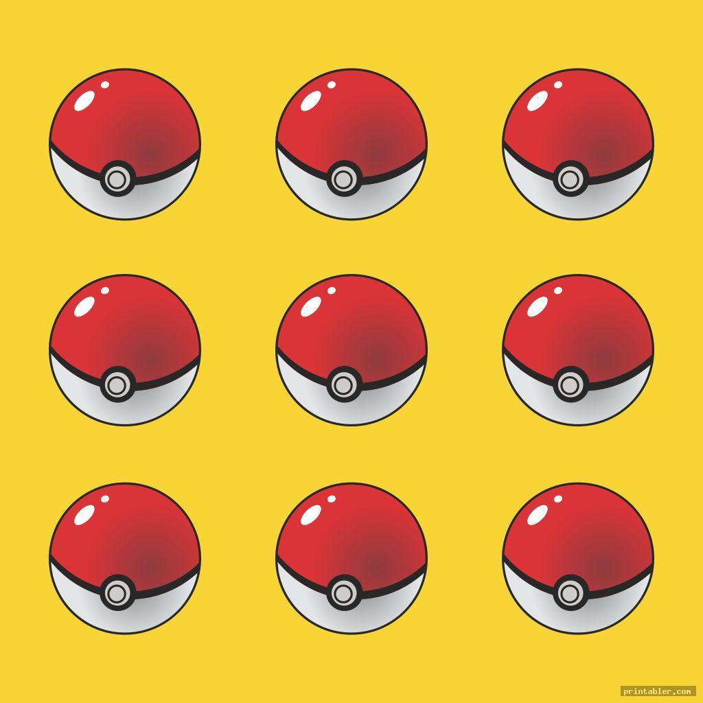 pokeball printable pokemon cupcake toppers