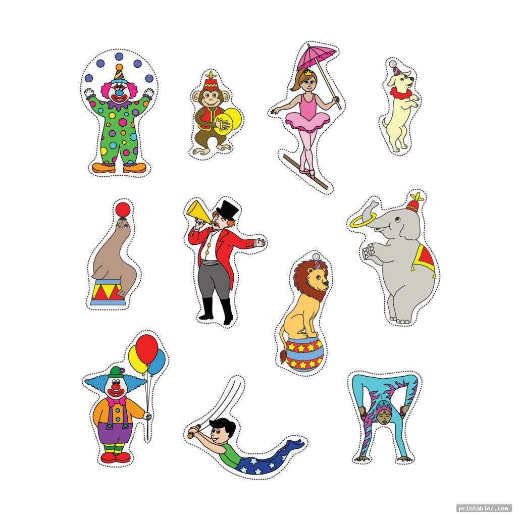 Printable Circus Crafts