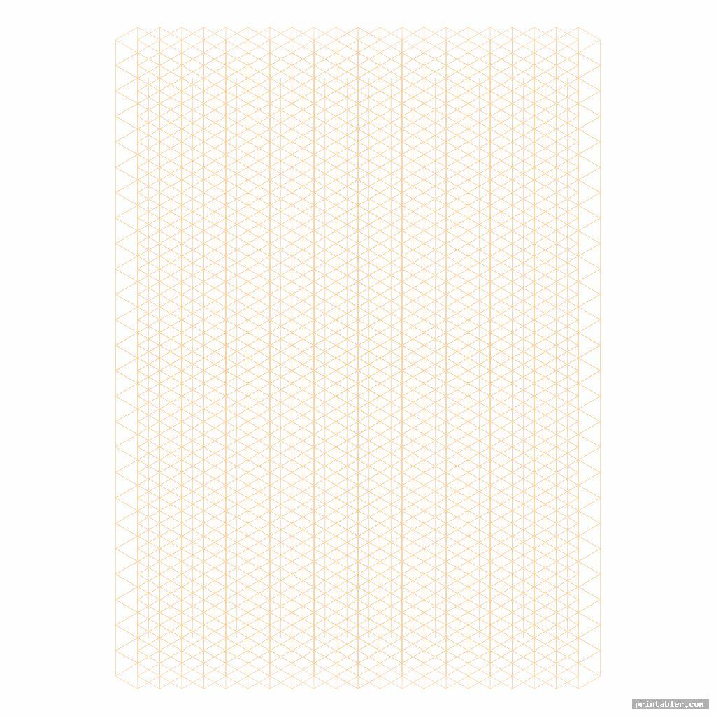 printable isometric grid paper image free
