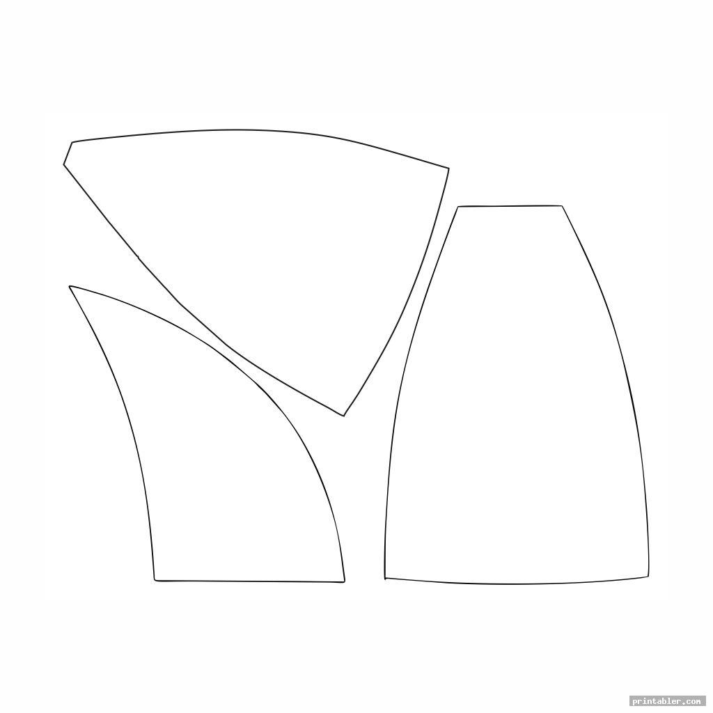 simple printable surgical hat patterns