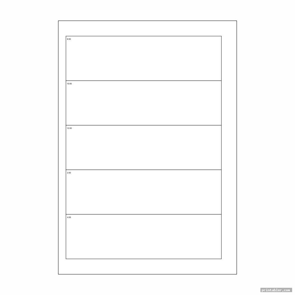 simple printables a5 organizer