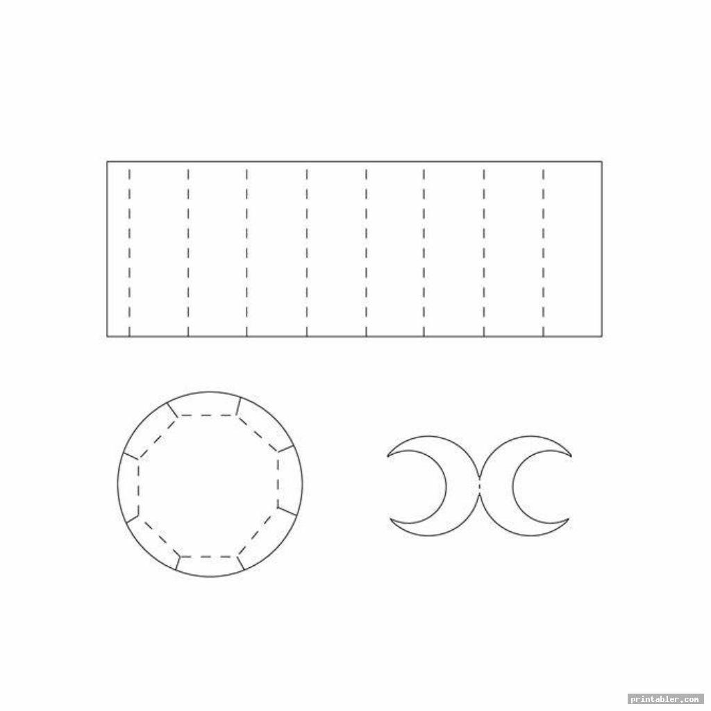 simple tea cups printable box templates