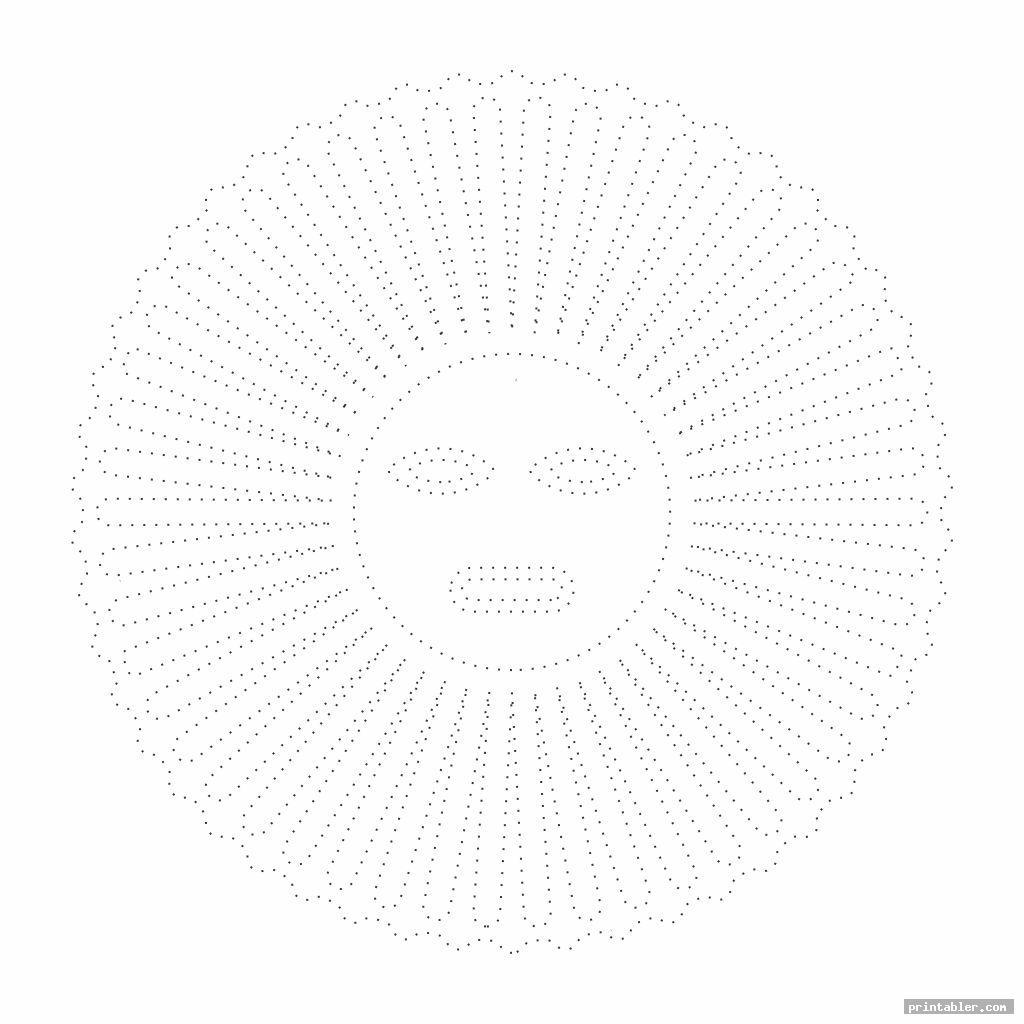 sun easy string art patterns printable