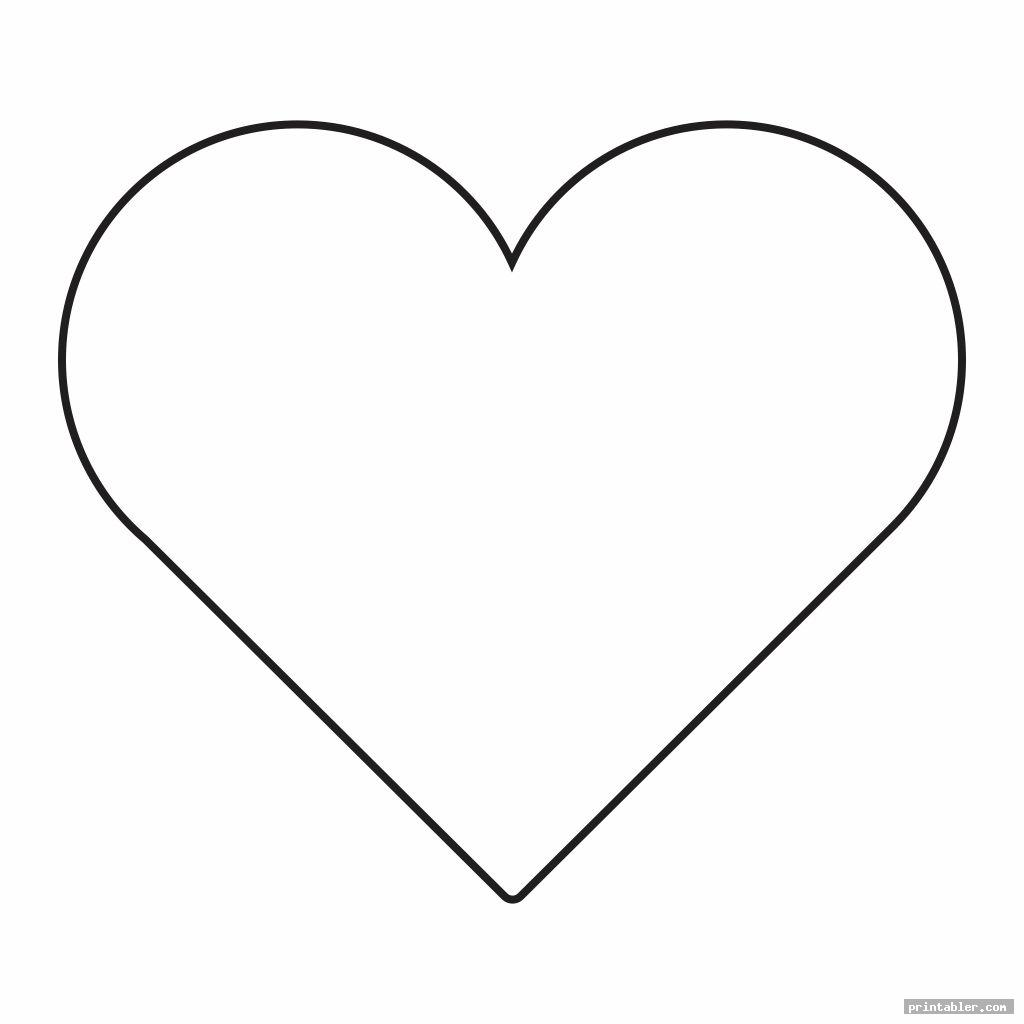 3 inch heart template printable cutouts