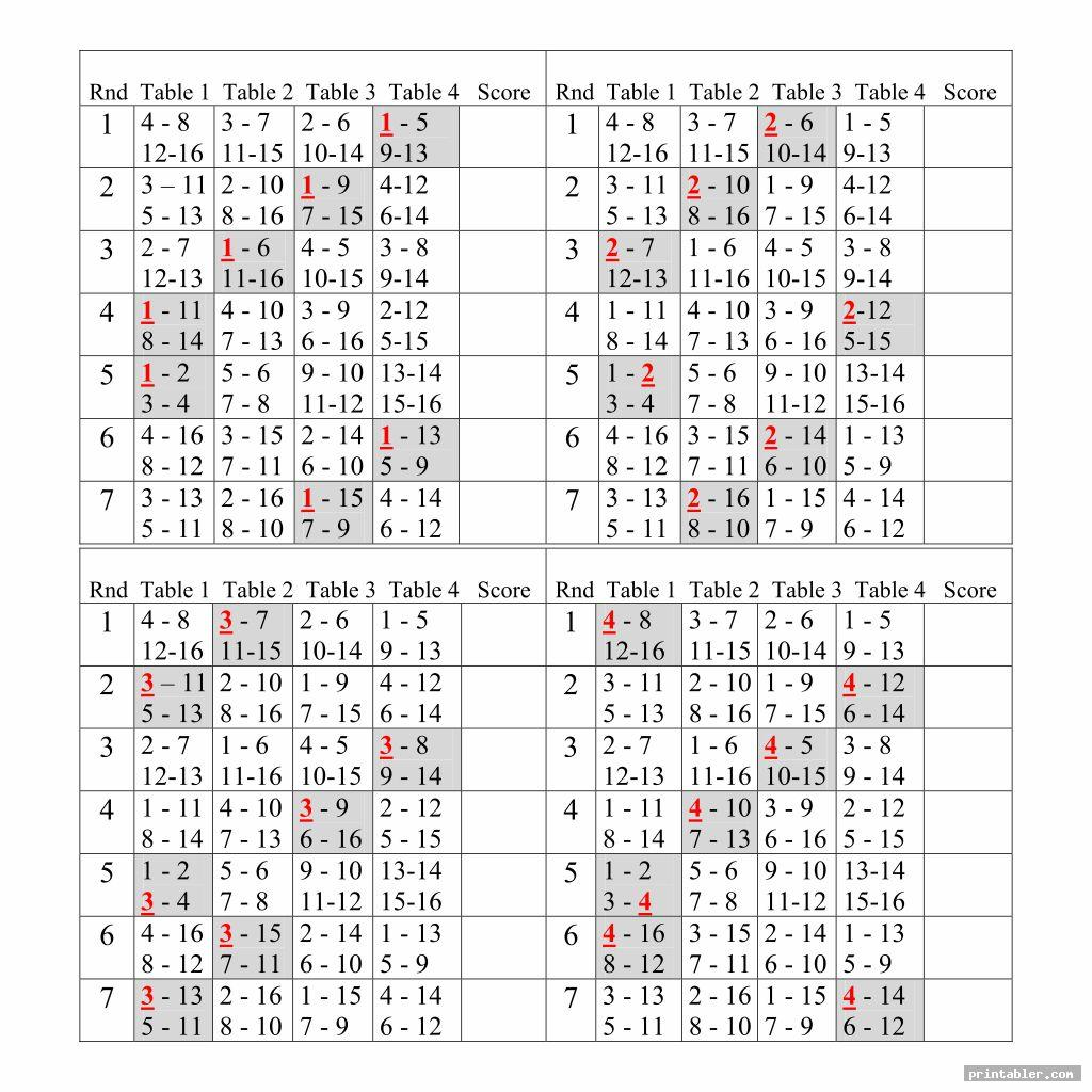 It is a picture of Declarative Printable Bridge Tallies