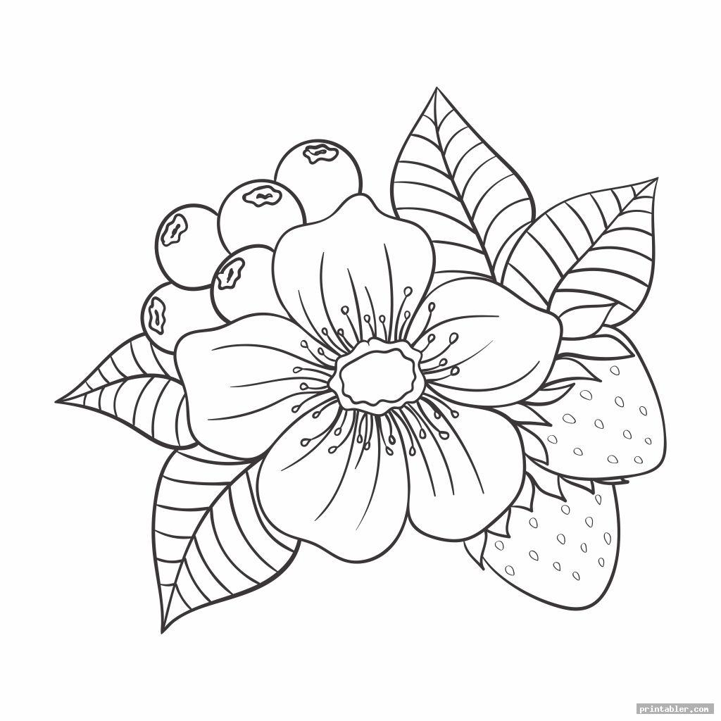Paper Flower Templates Printable