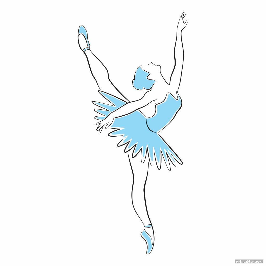 beautiful printable ballerina templates