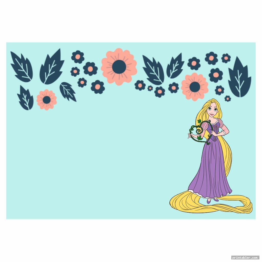 Printable Disney Princess Cards