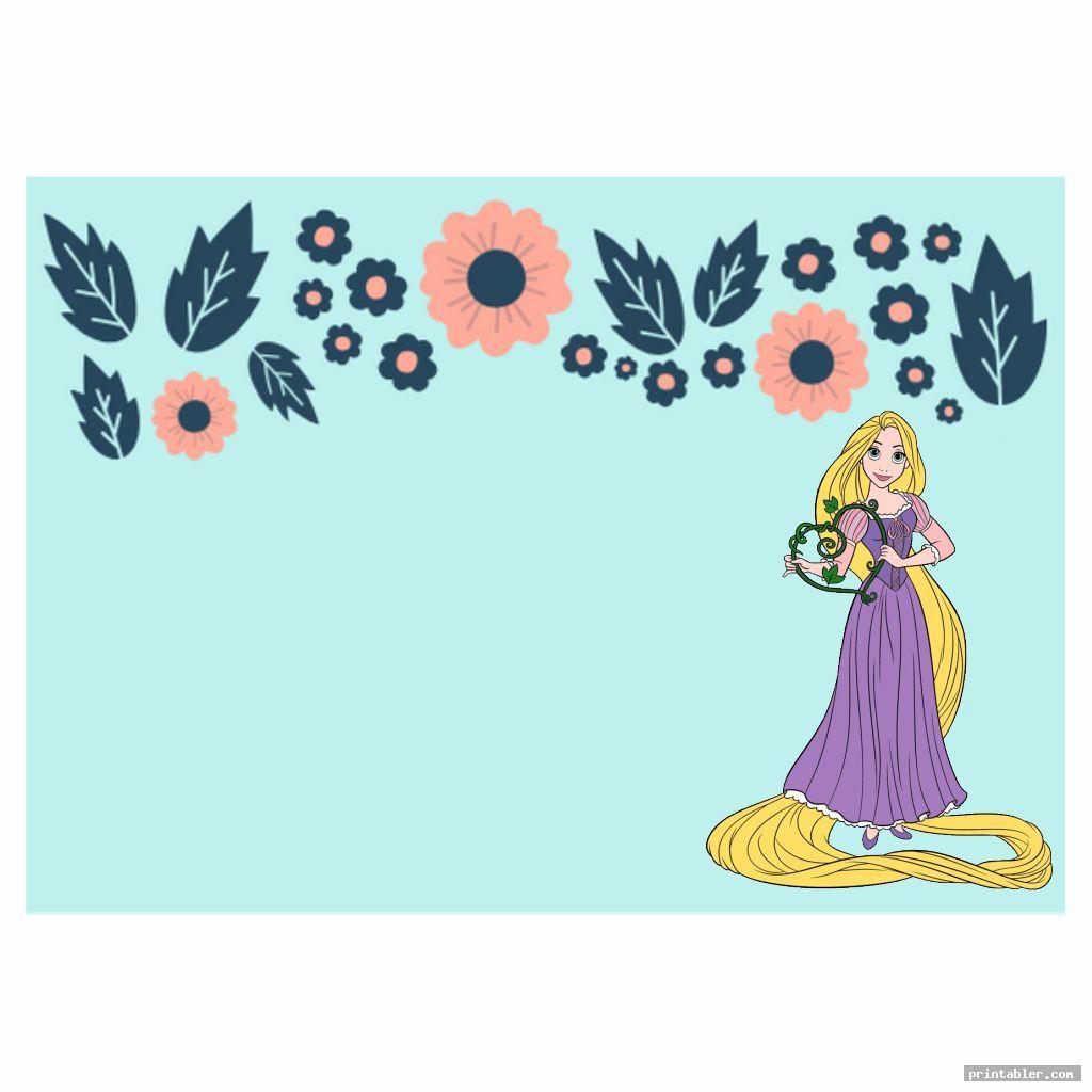 Printable Disney Princess Cards
