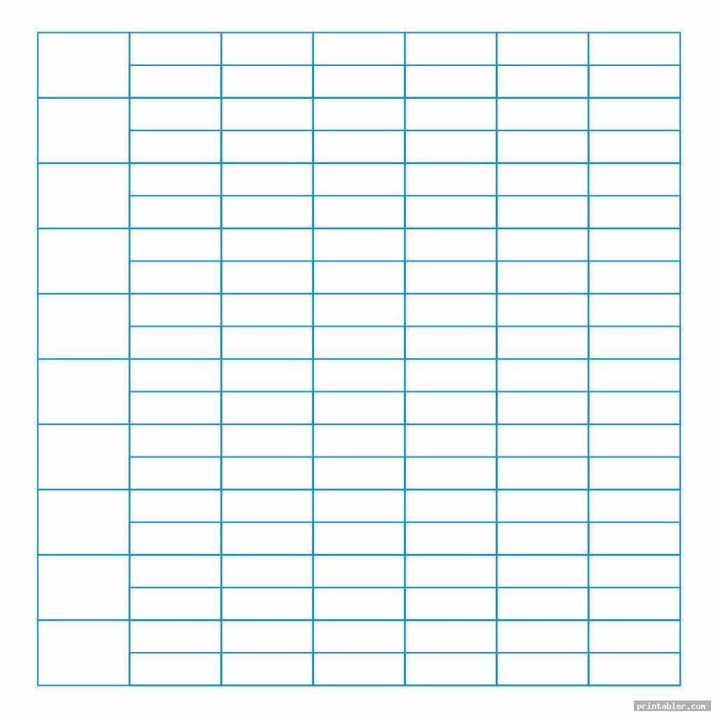 blank printable columnar sheets pdf