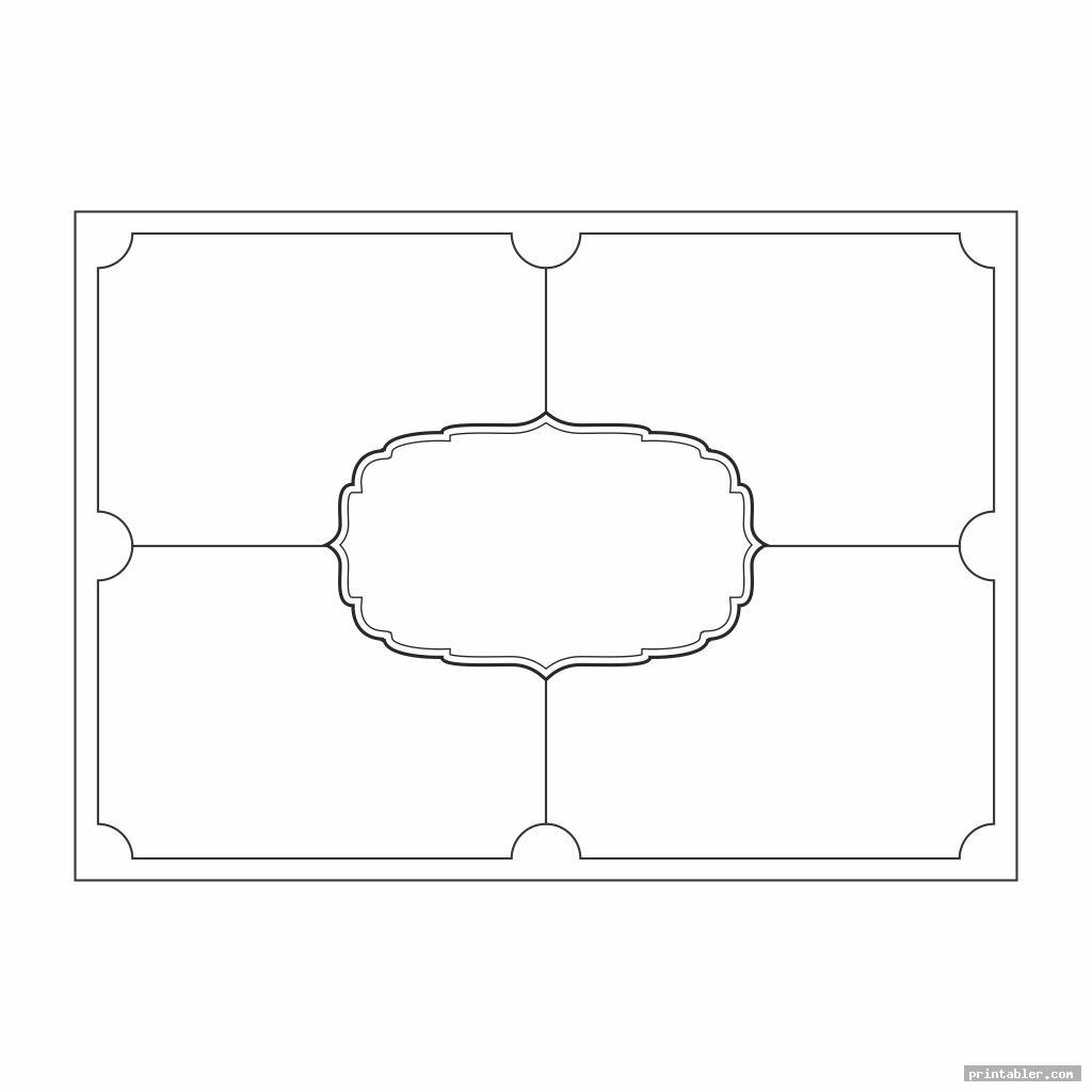 blank printable frayer model graphic organizers