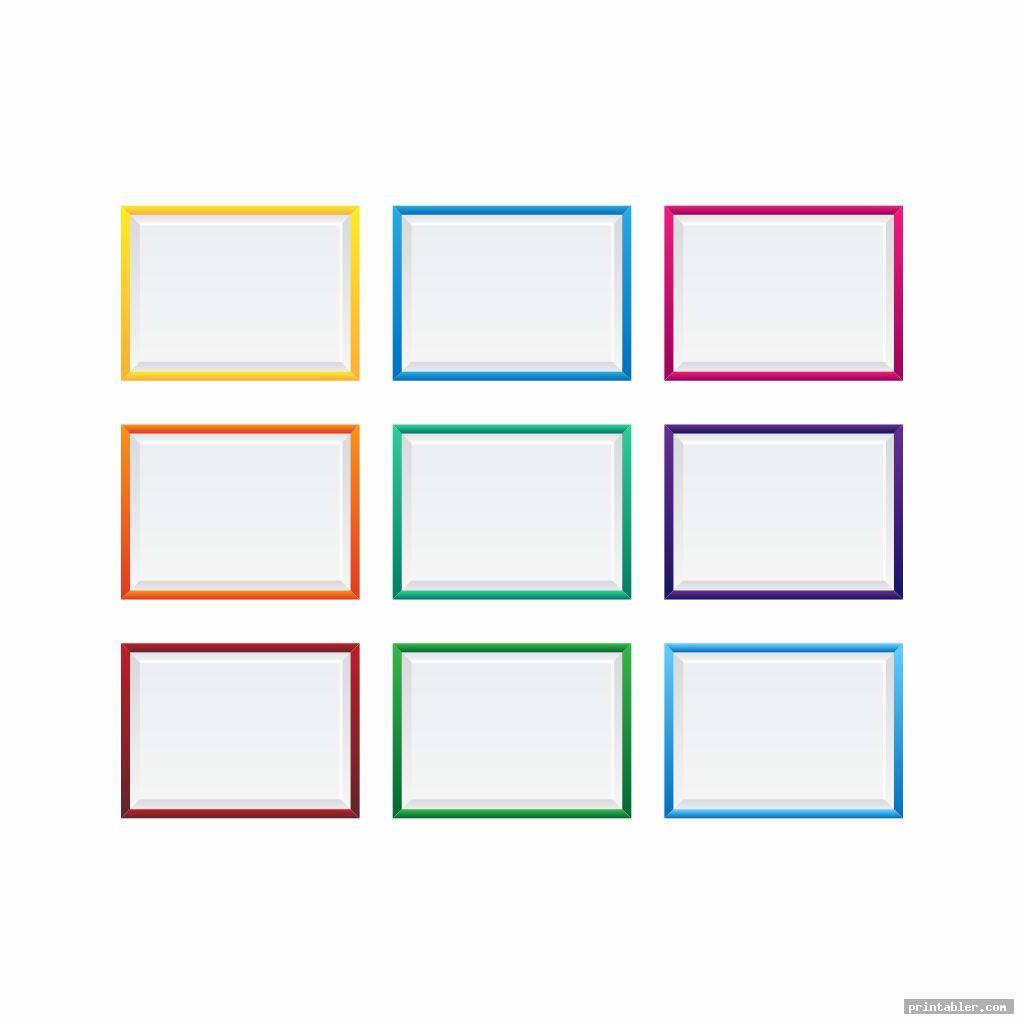 blank word wall printable template