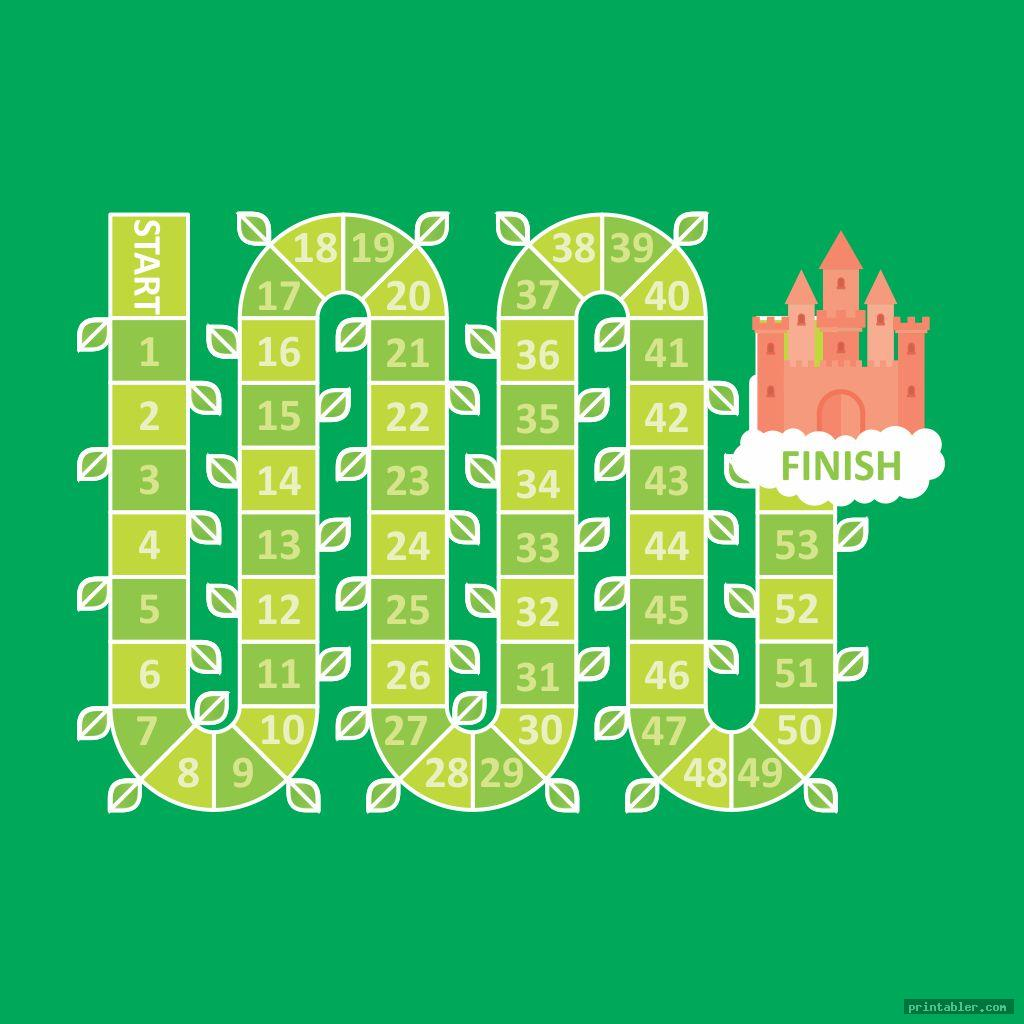 Printable Board Game of Life