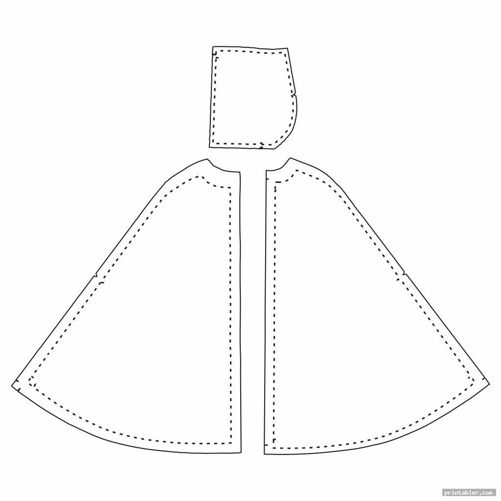coat barbie clothes printable patterns