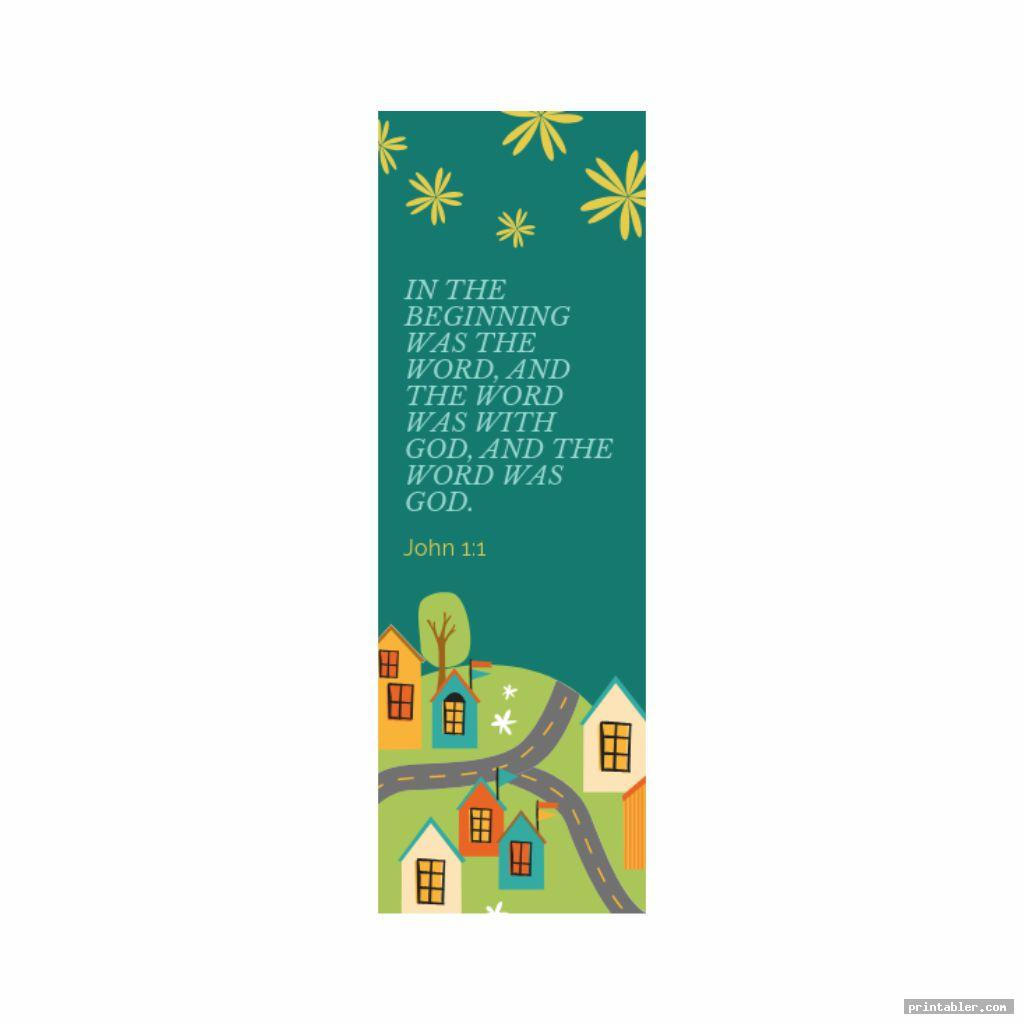 Printable Religious Bookmarks for Adults