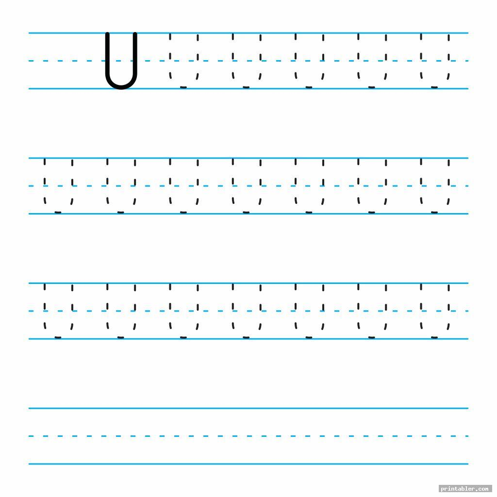 Printable Tracing Alphabet Letters