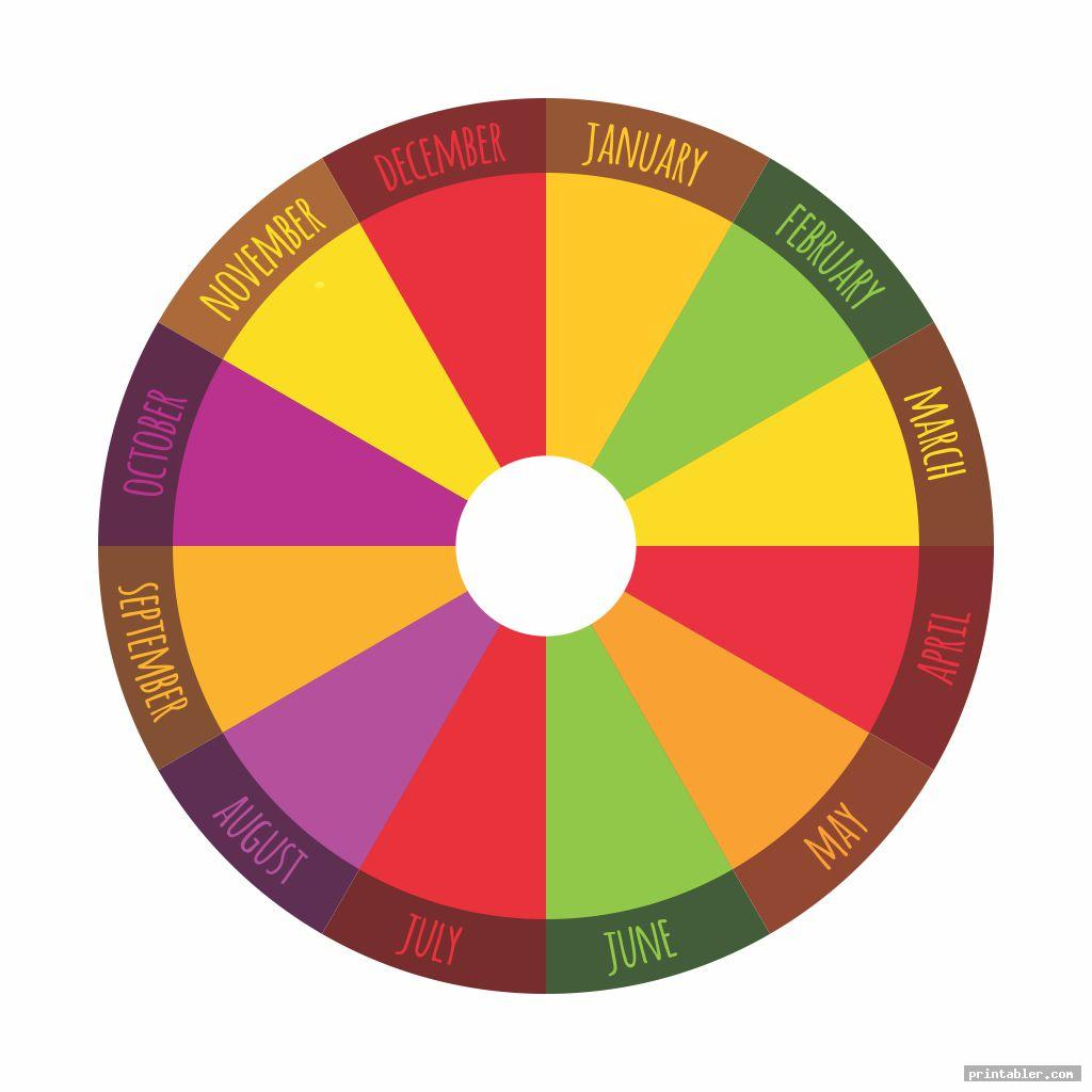 colorful wheel of the year printable