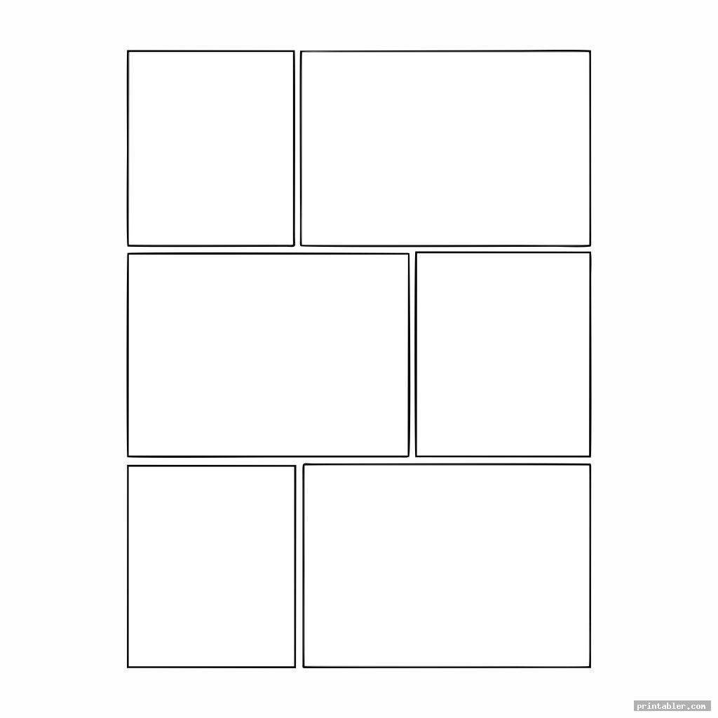 comic book templates printable image free