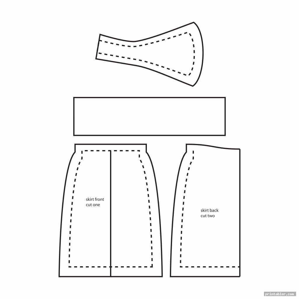 cool barbie clothes printable patterns
