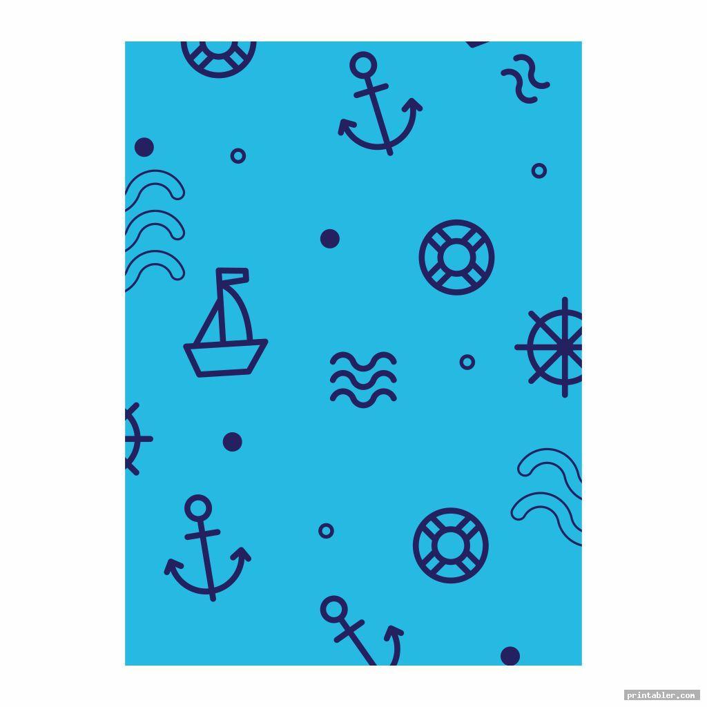 cool boy scrapbook paper printable pattern