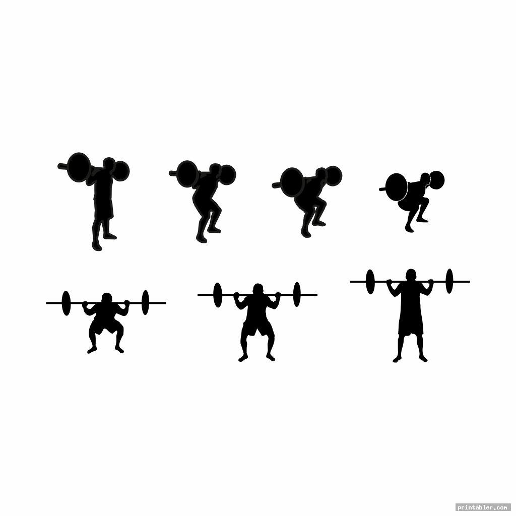 cool dumbbell exercises chart printable pdf