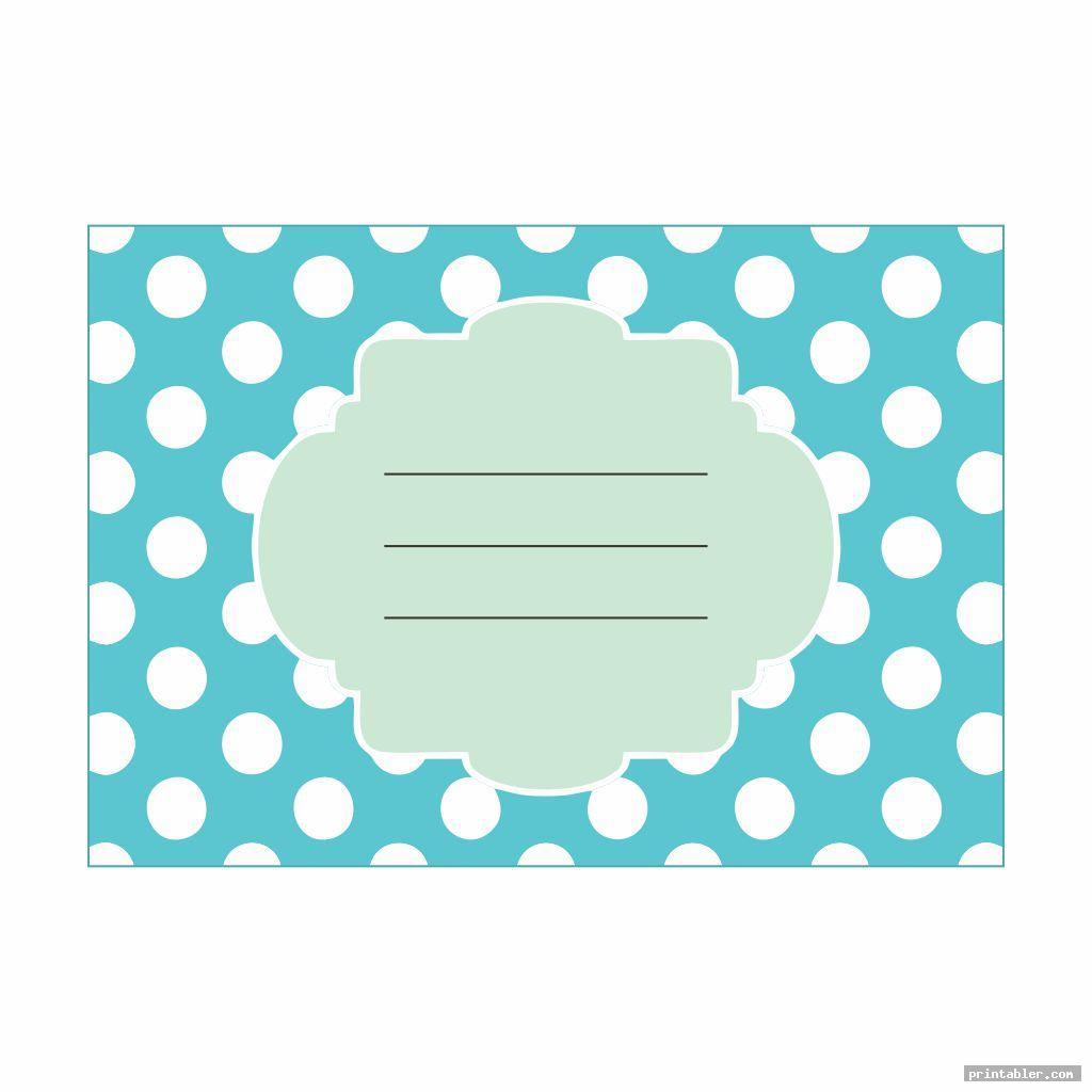 cool polka dot labels printable name tags