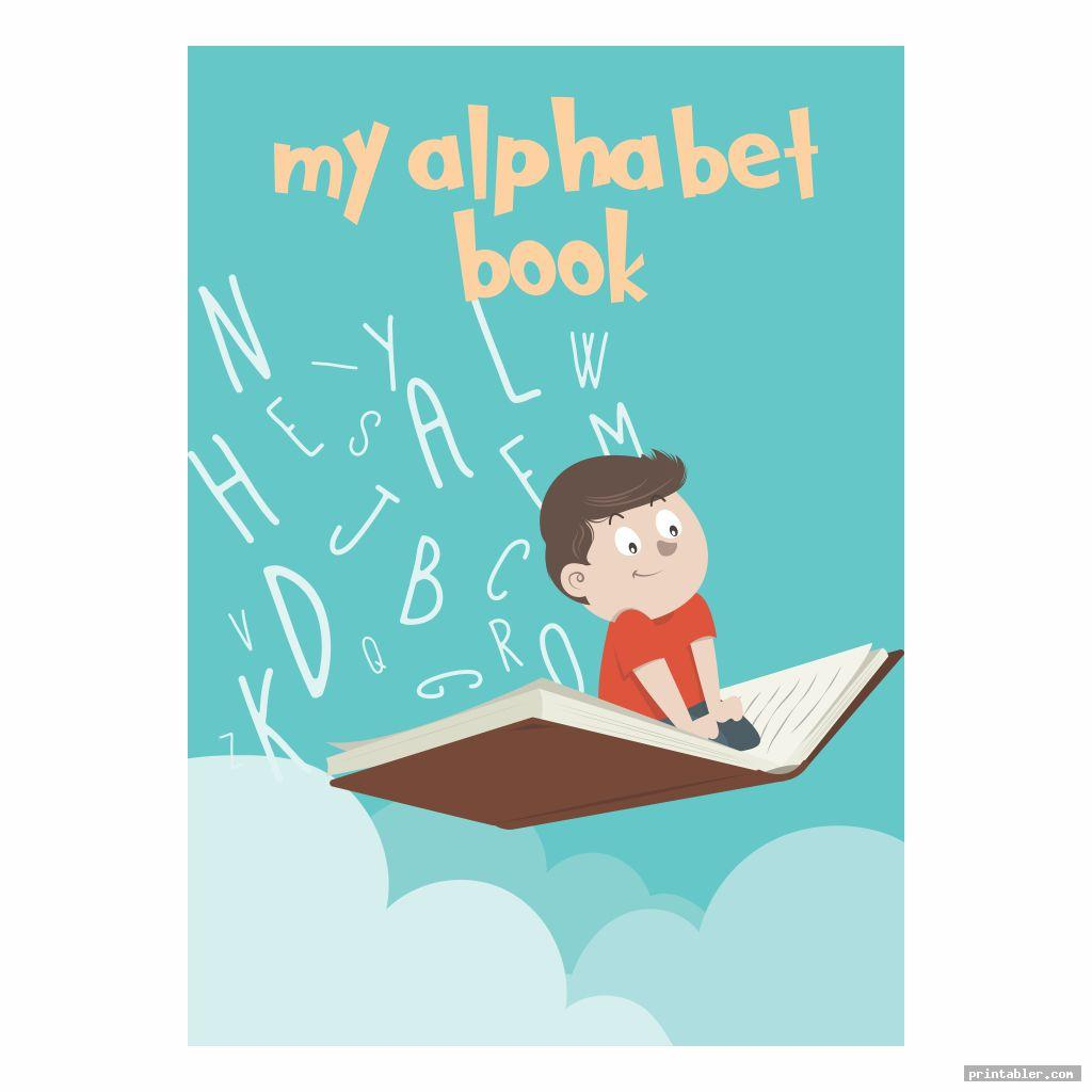 Printable Alphabet Book Cover