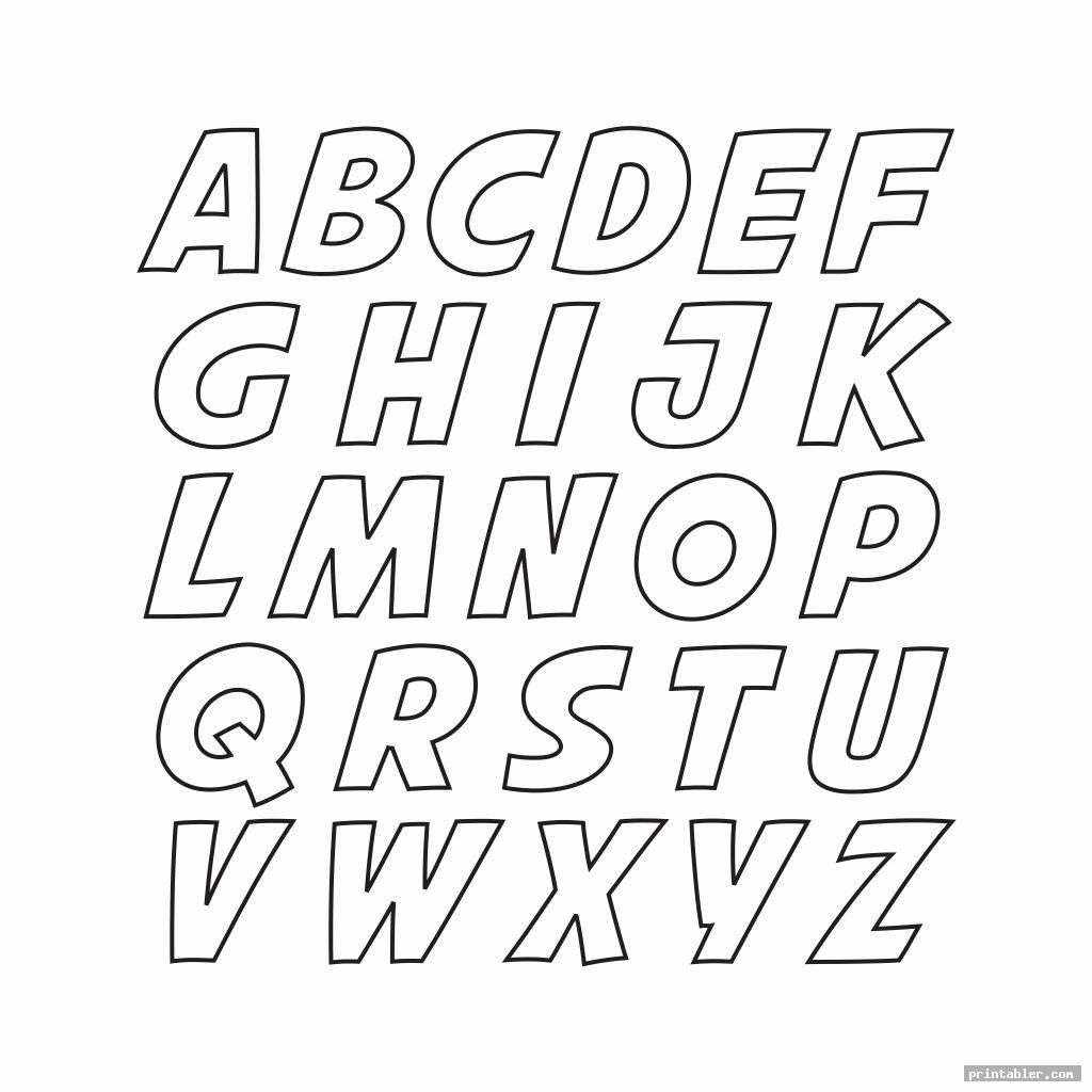 cool printable block letters small medium