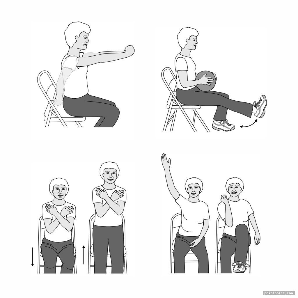 printable chair exercises for seniors