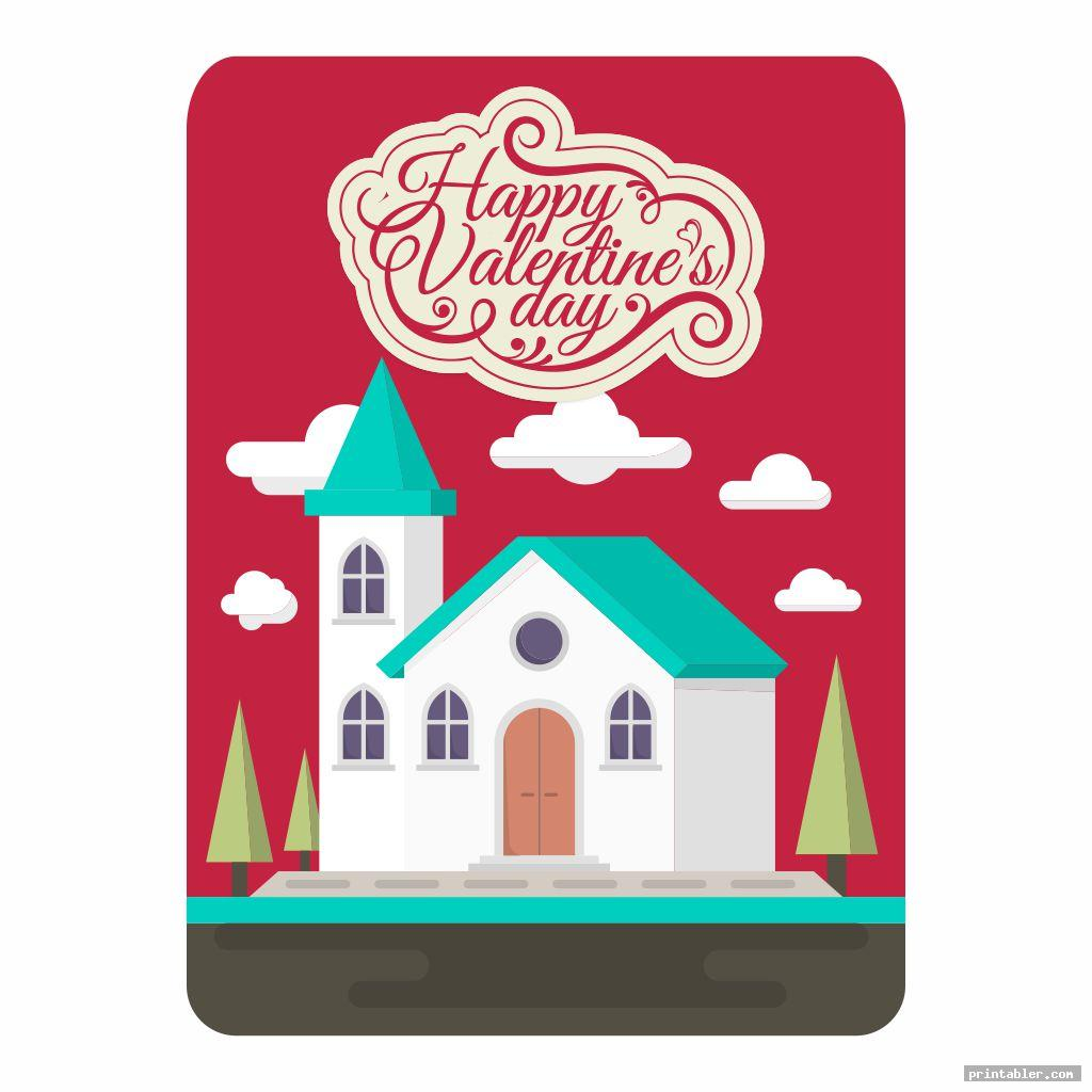 cool printable church flyers valentine