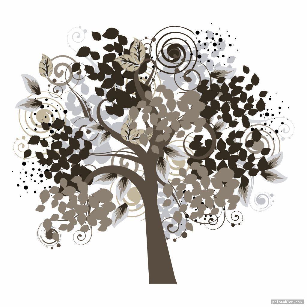 cool printable fingerprint tree