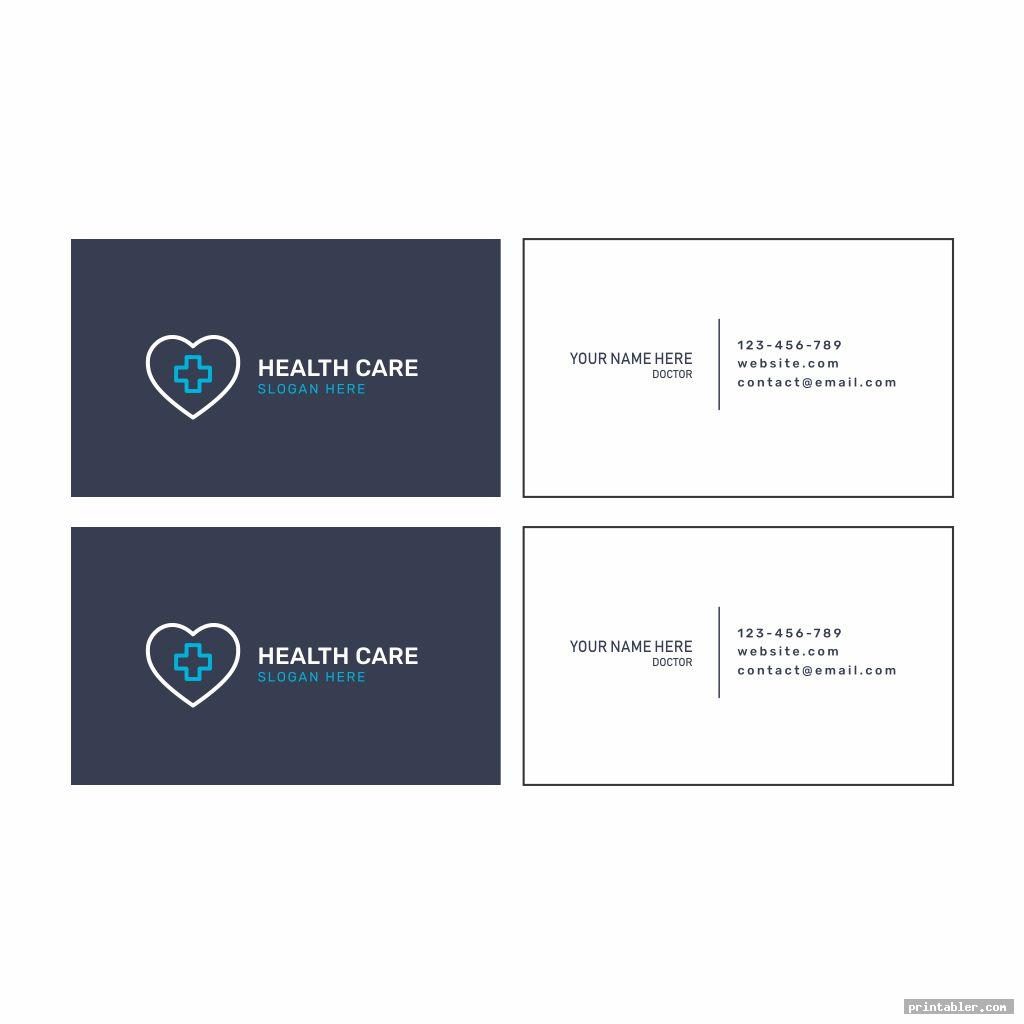cool printable medical cards