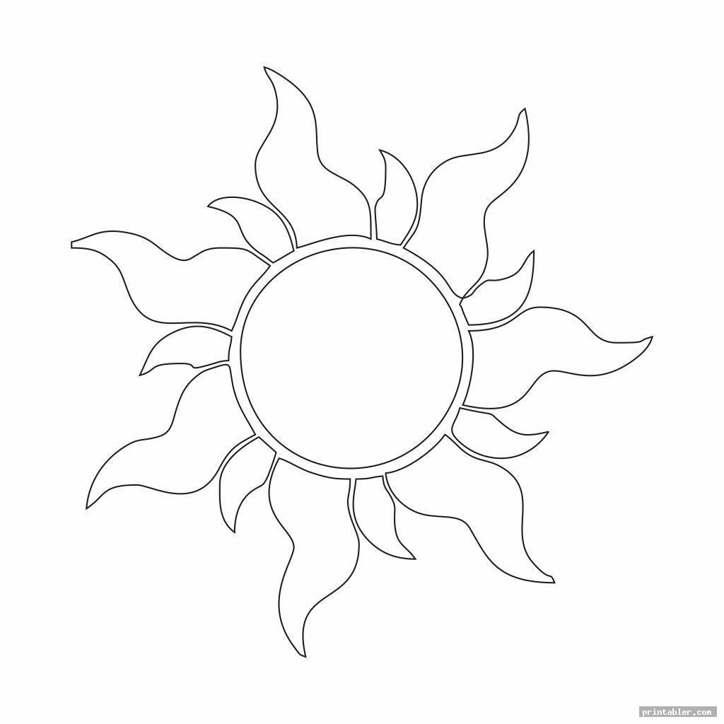 cool printable sun patterns