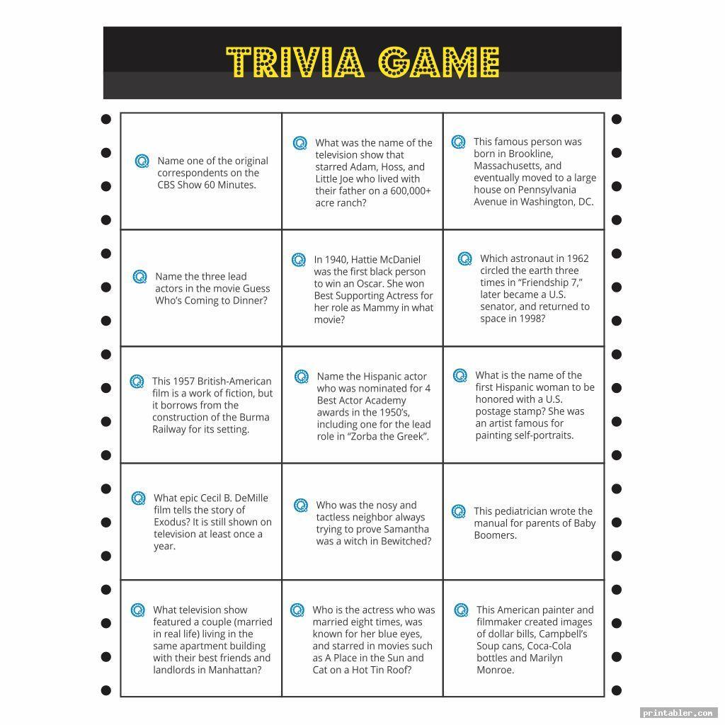 cool printable trivia for seniors
