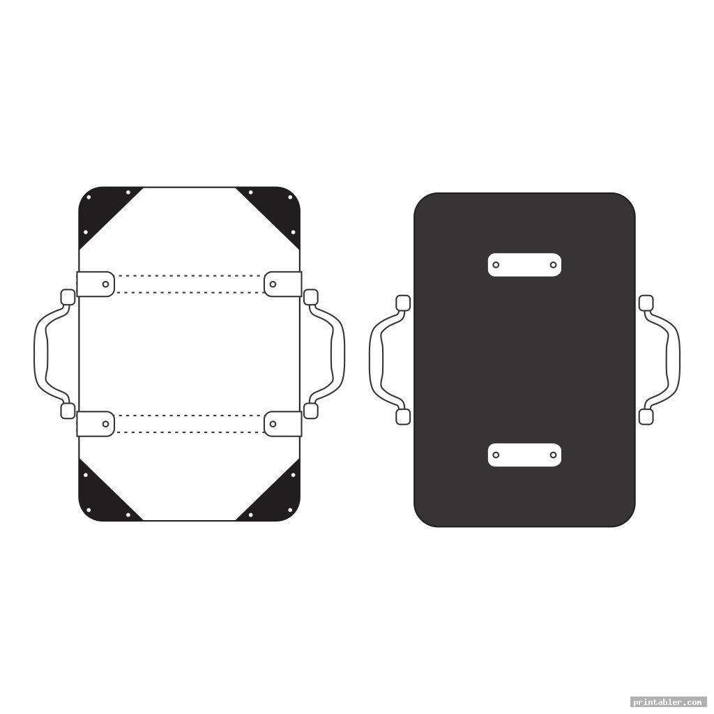 cool printable walker bag pattern