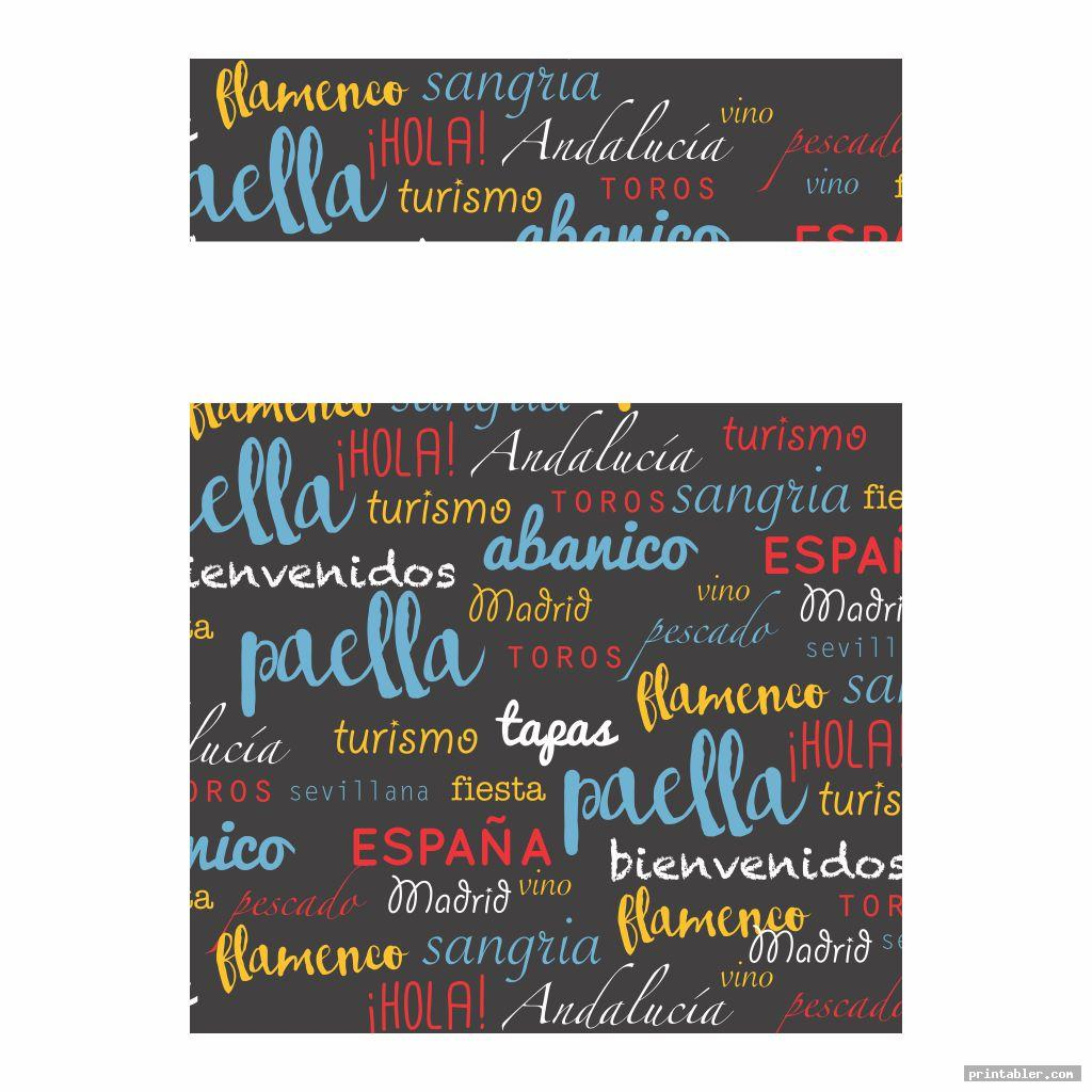 cool spanish printable binder covers for boys