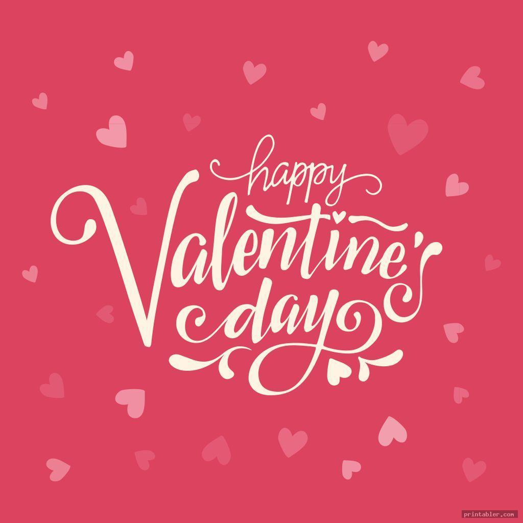 cool valentine flyer template printable