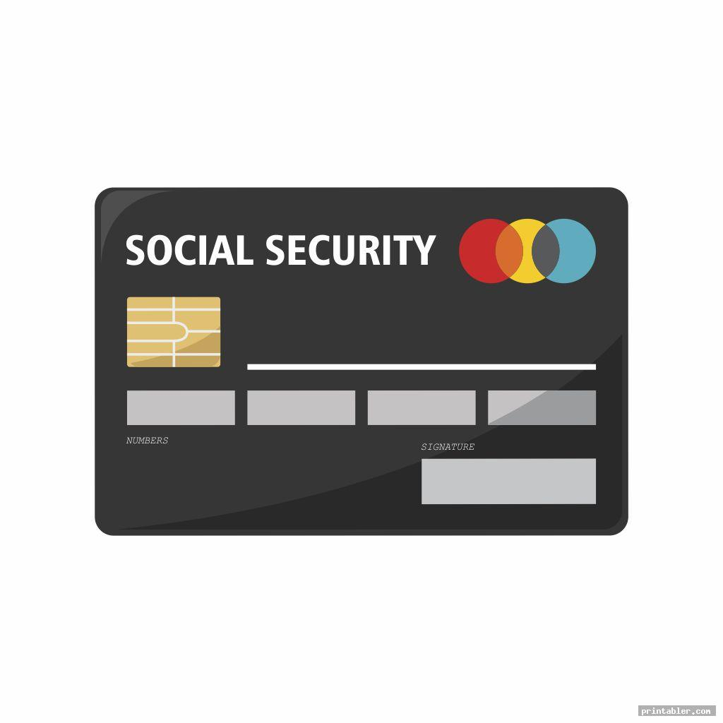 Social Security Cards Printable