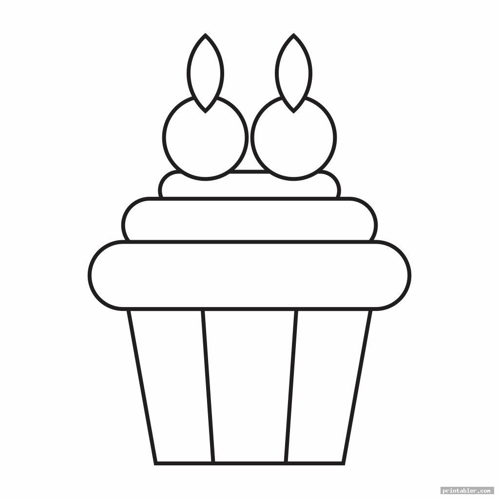 cupcake printable template for preschool template for use