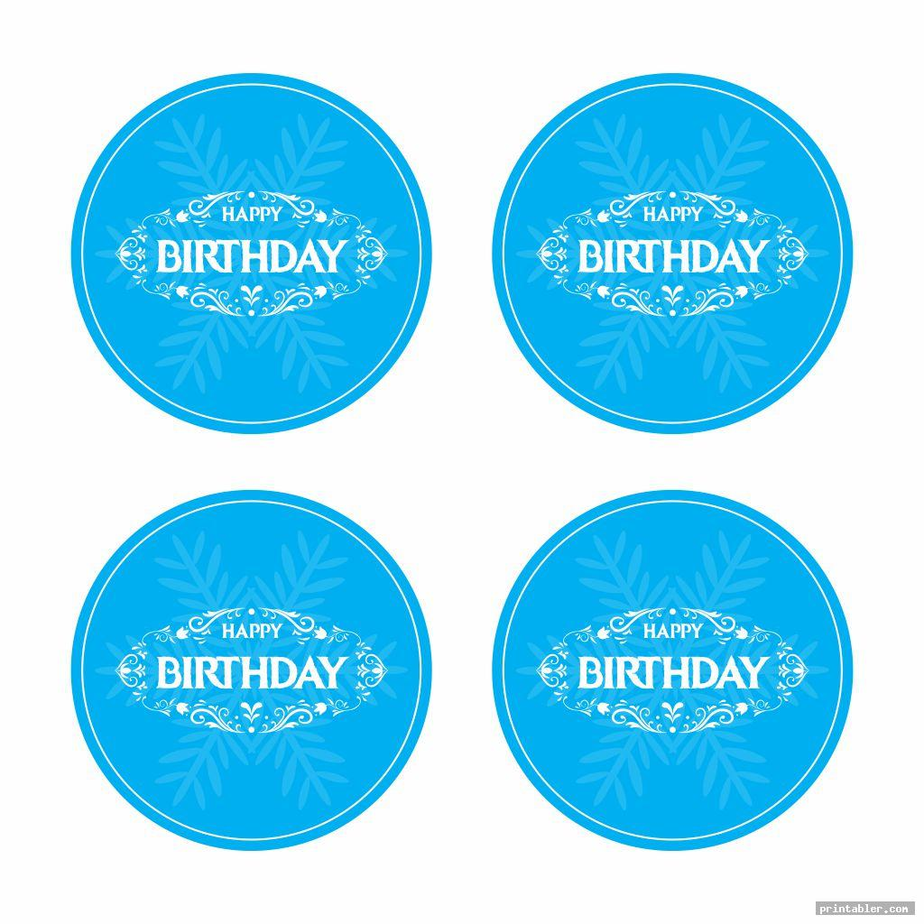 cupcake topper frozen birthday banner printable