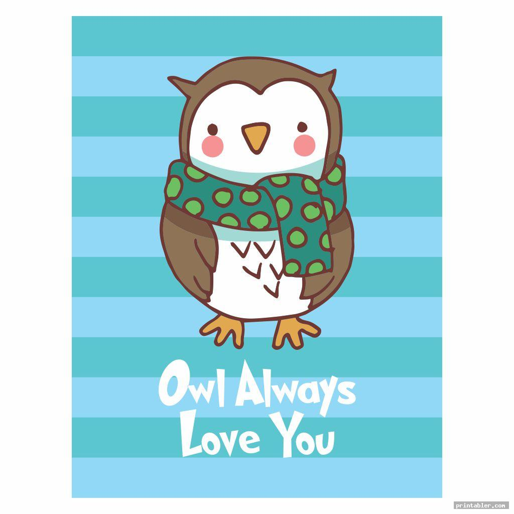 Owl Nursery Printables